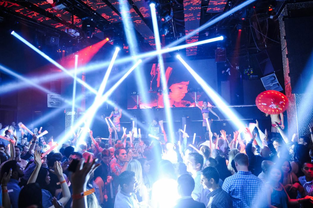Nightclub dance dancing rave club music party bar wallpaper