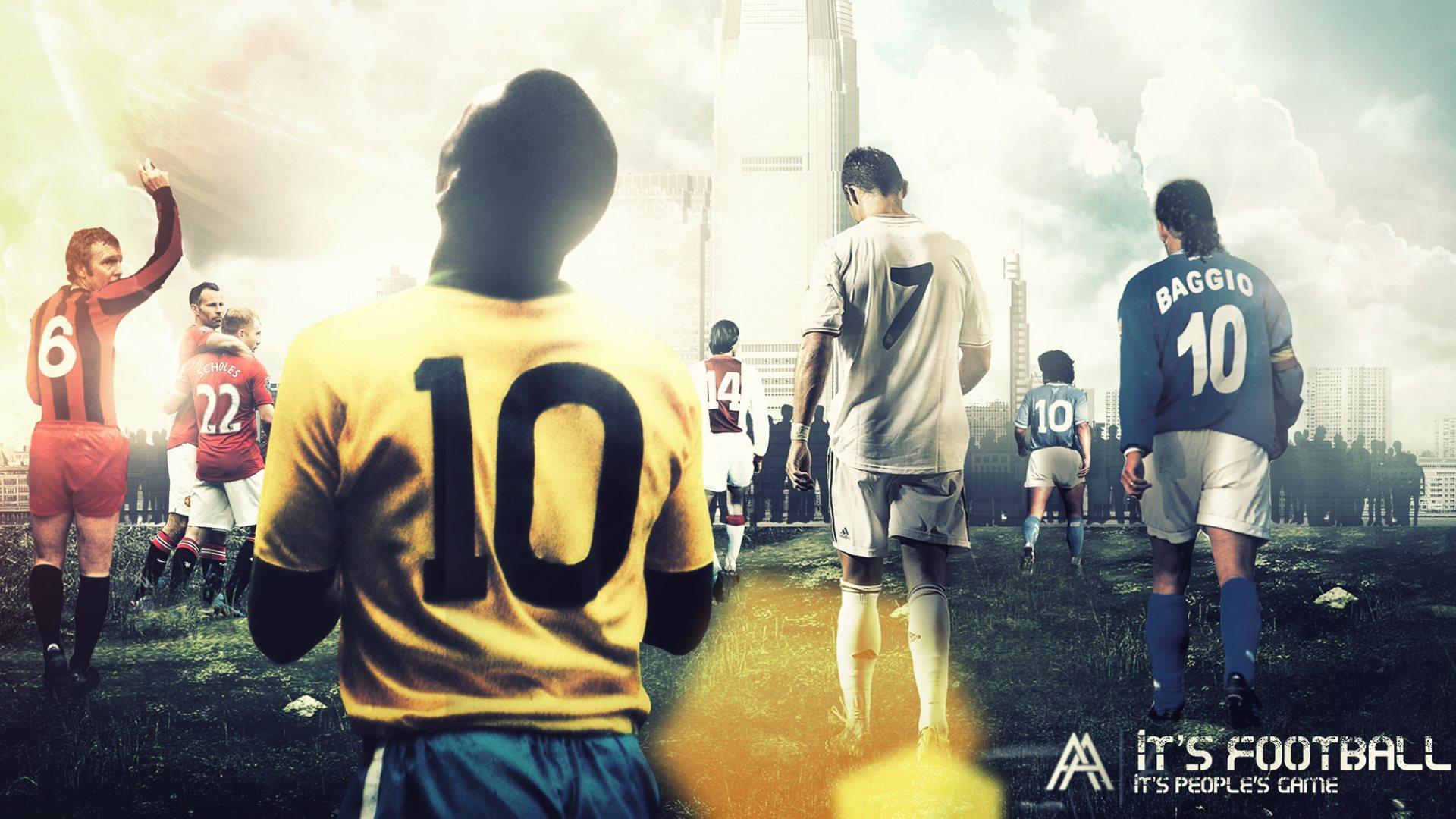 Pele soccer sports wallpaper 1920x1080 1188973 - Pele wallpaper ...