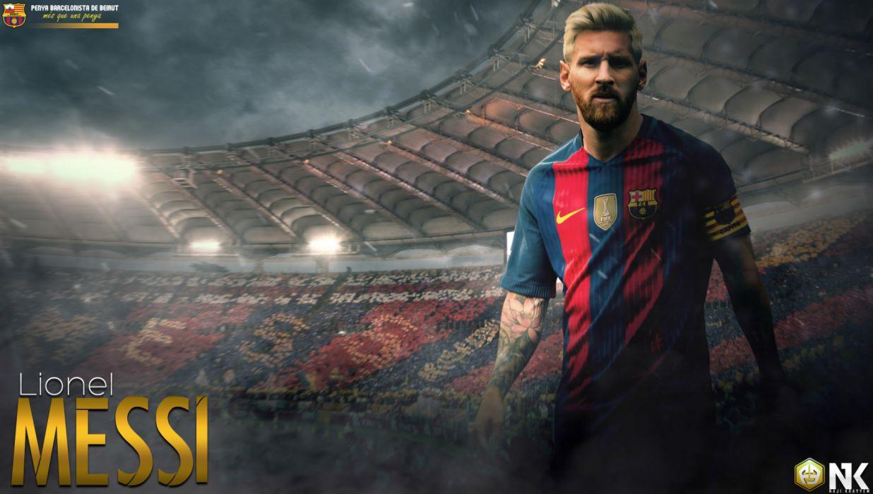 Lionel Messi Soccer Sports Barcelona Argentina Wallpaper