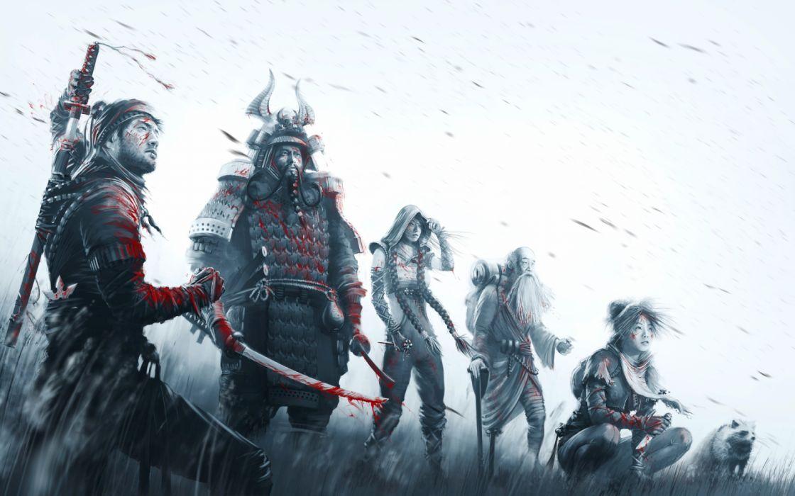 Shadow Tactics Blades Shogun Asian Oriental Samurai Fantasy