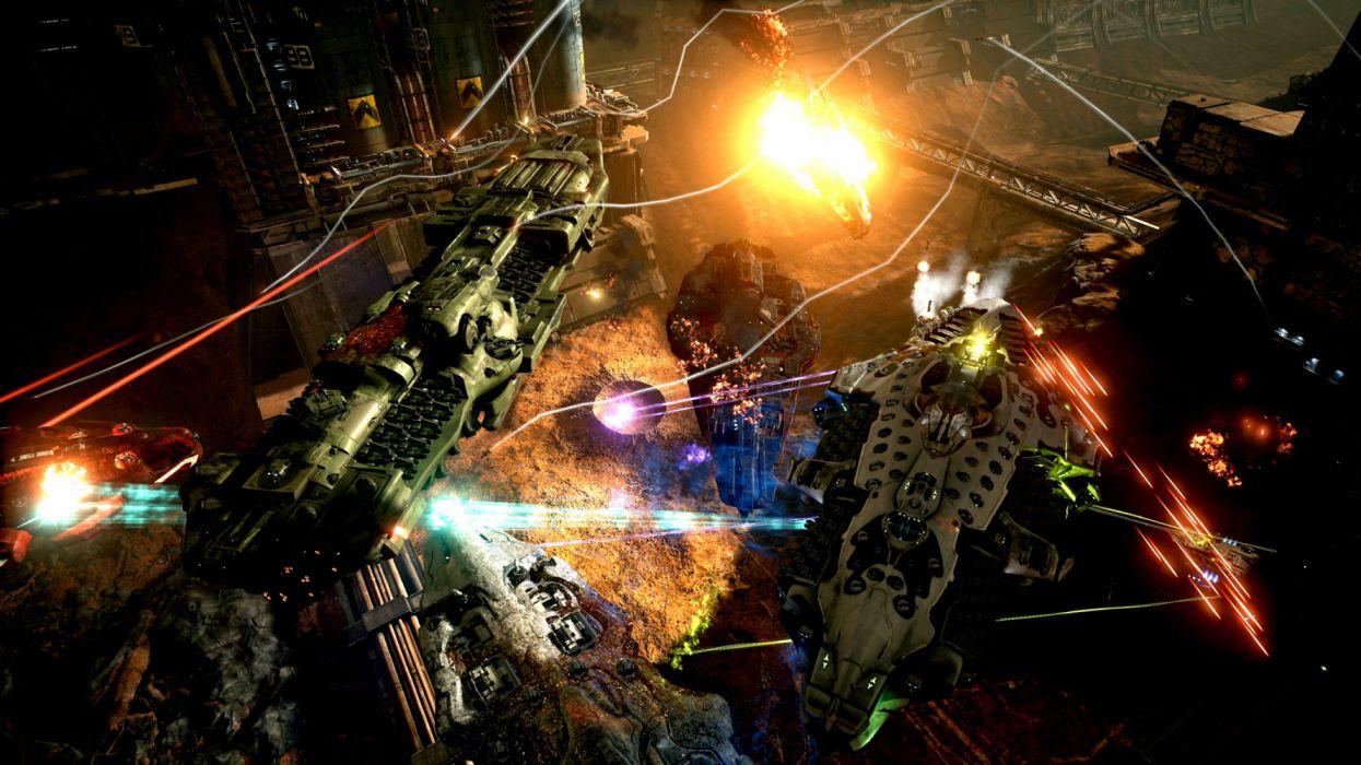 DREADNAUGHT sci-fi futuristic spaceship ship battleship warship combat flight simulator action fighting tactical strategy wallpaper