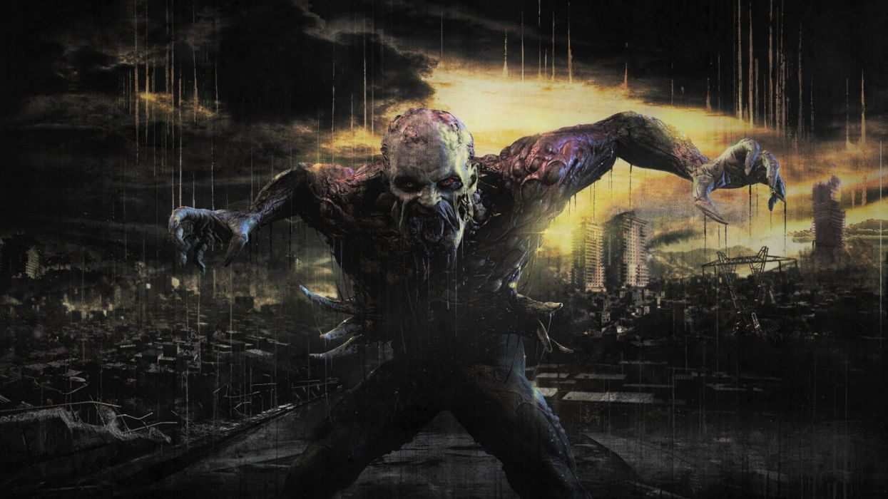 Creature Creepy Dying Light Monster Scary Video Game wallpaper