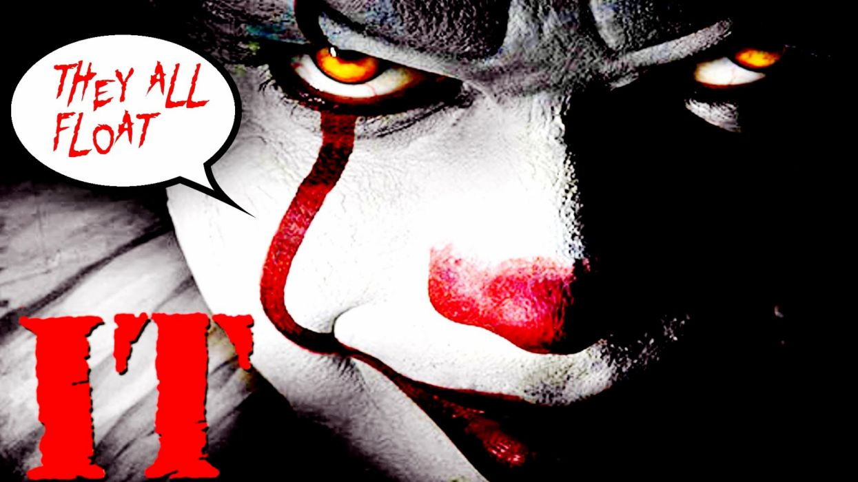 I-t (2017) Movie Pennywise (It) Scary wallpaper