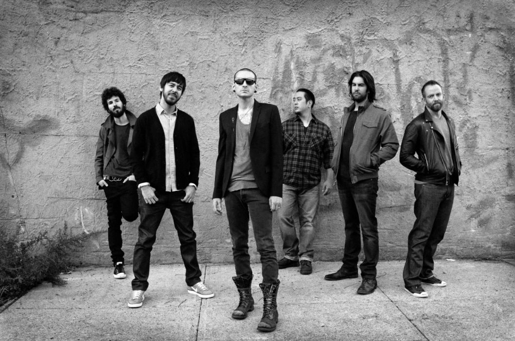 lack & White Chester Bennington Linkin Park Music wallpaper