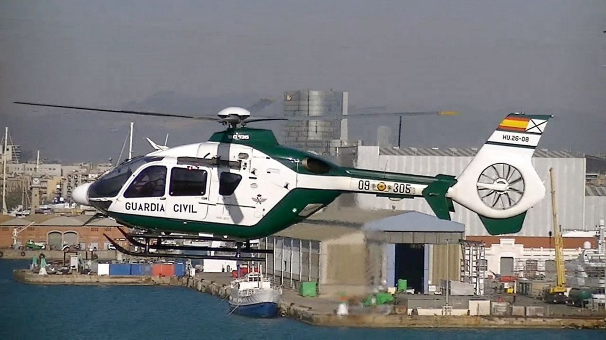 helicoptero guardia civil espay wallpaper