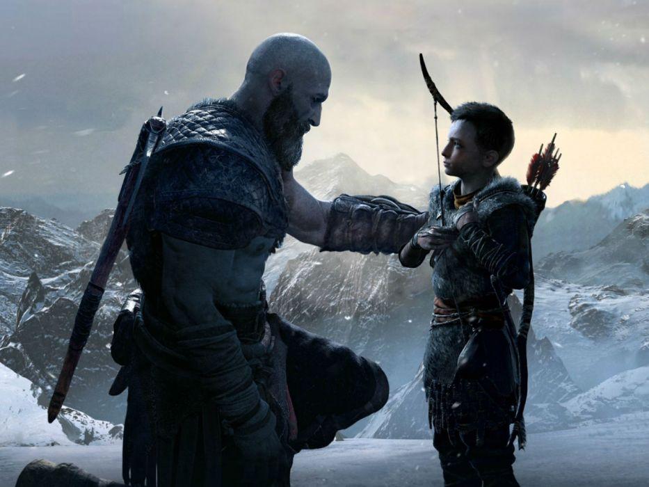 God Of War 2018 Fantasy Action Fighting Warrior Adventure