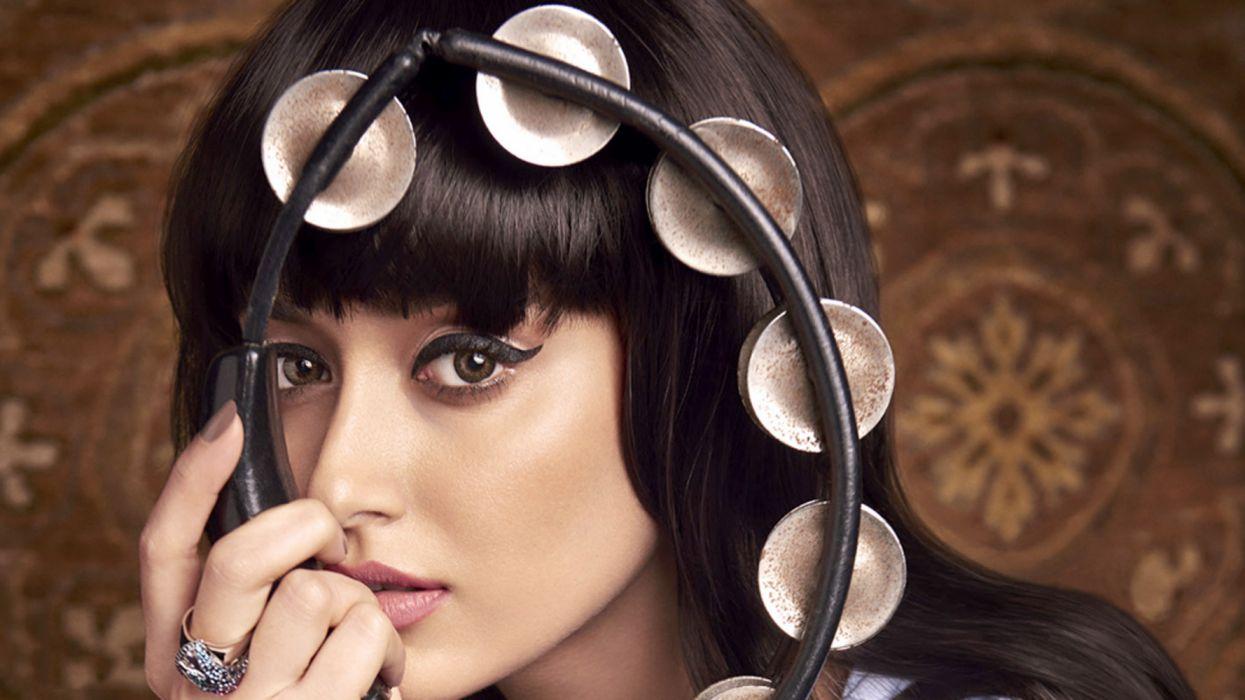 Ileana DCruz bollywood actress celebrity model girl beautiful brunette pretty cute beauty sexy hot pose face eyes hair lips smile figure makeup indian wallpaper