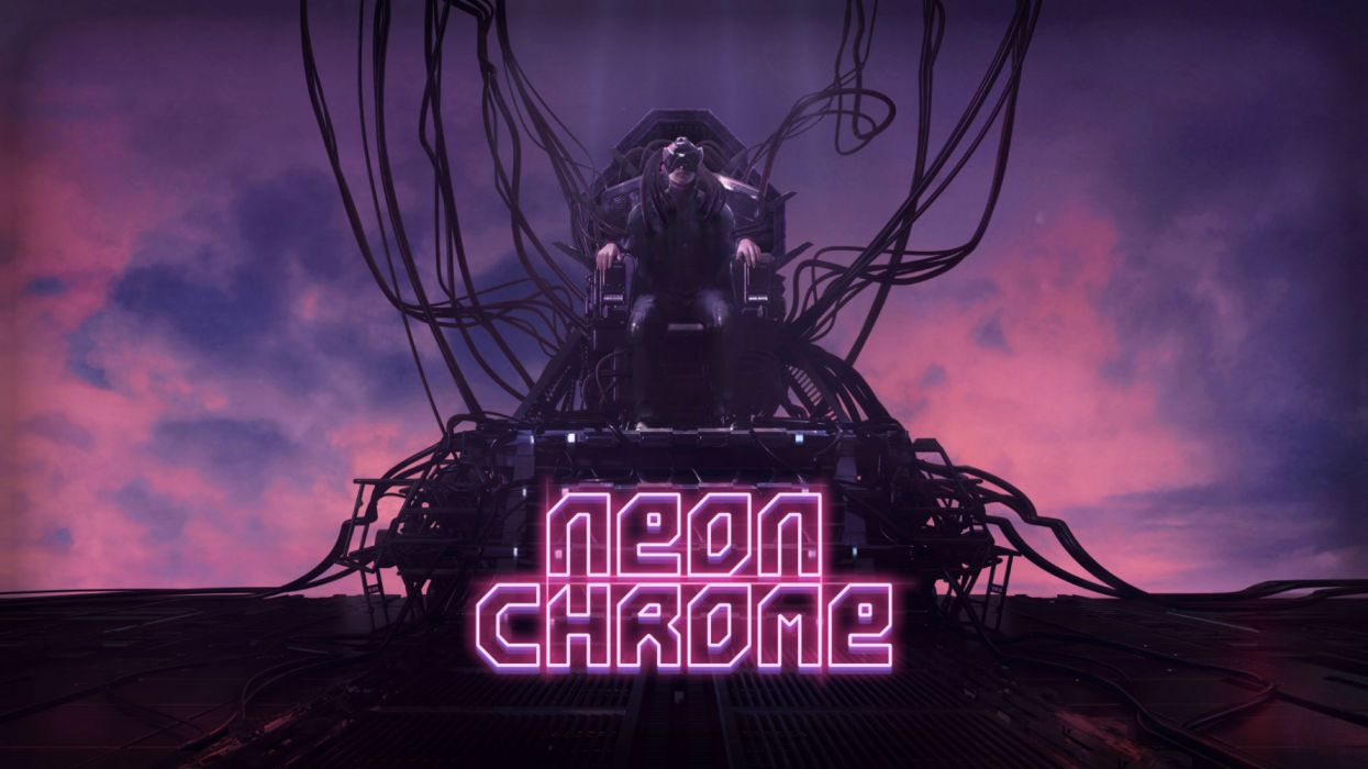 NEON CHROME 1neonc sci-fi technics futuristic science fiction shooter fps action fighting warrior cyberpunk wallpaper