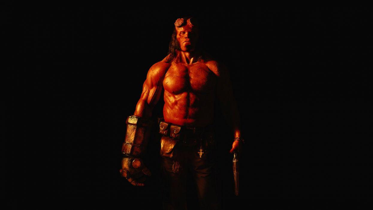 Hellboy 2019 movie film action supernatural superhero fantasy wallpaper