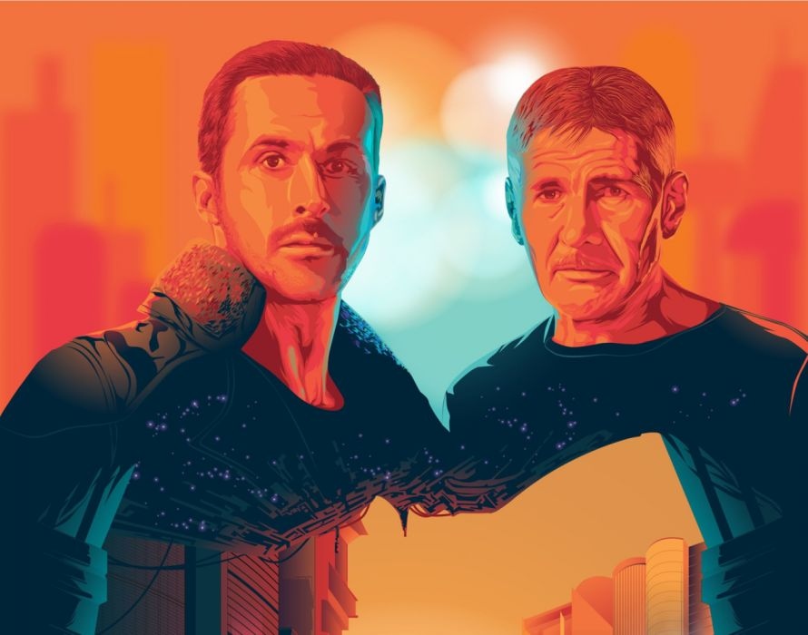 Blade Runner 2049 sci-fi futuristic movie film drama mystery wallpaper