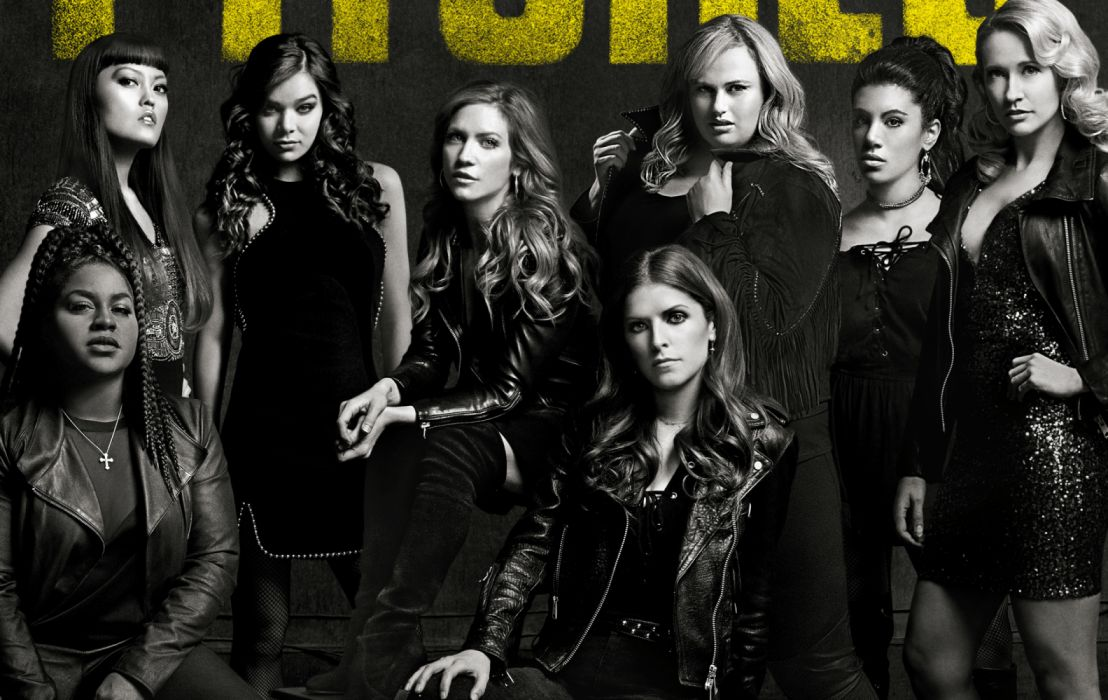 Anna Kendrick Brittany Snow Chrissie Fit Ester Dean Hailee Steinfeld Hana Mae Lee Pitch Perfect 3 Rebel Wilson wallpaper