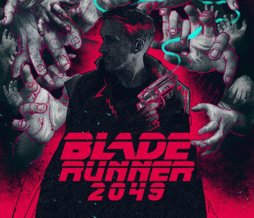 Blade Runner 2049 sci-fi futuristic movie film drama mystery b wallpaper