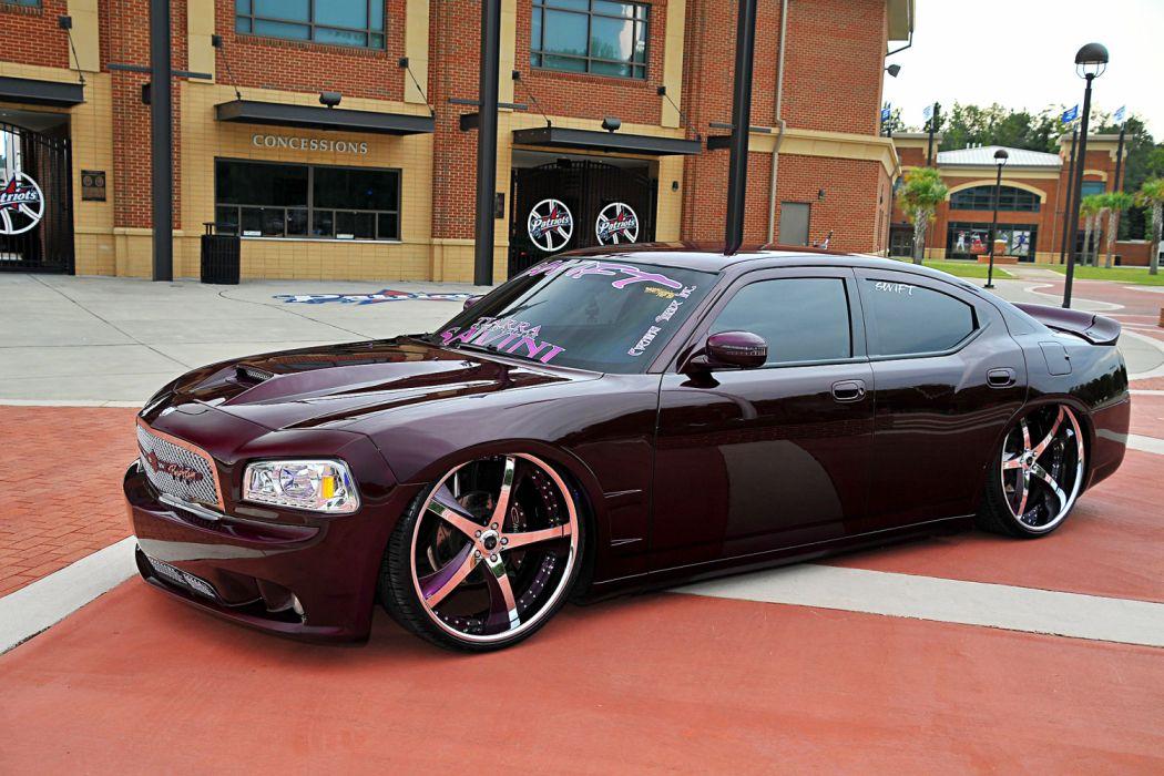 2008 Dodge Charger Lowrider Vehicle Auto Automobile Car Custom Mopar Wallpaper 2040x1360 1200045 Wallpaperup