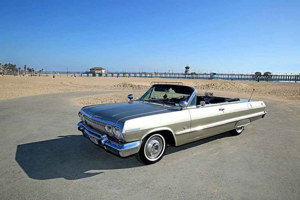 1963 Chevrolet Impala Super Sport Convertible Lowrider