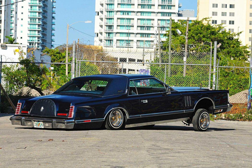 1979 Lincoln Continental Mark V Lowrider Vehicle Auto