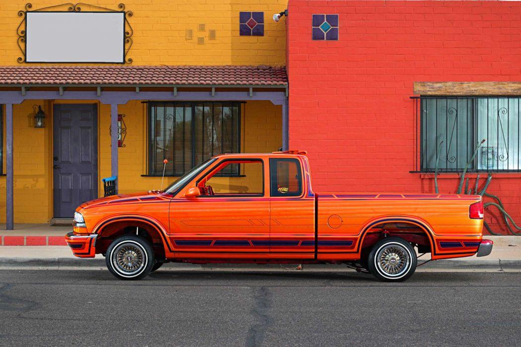 1998 Chevrolet S-10 lowrider vehicle auto automobile ...
