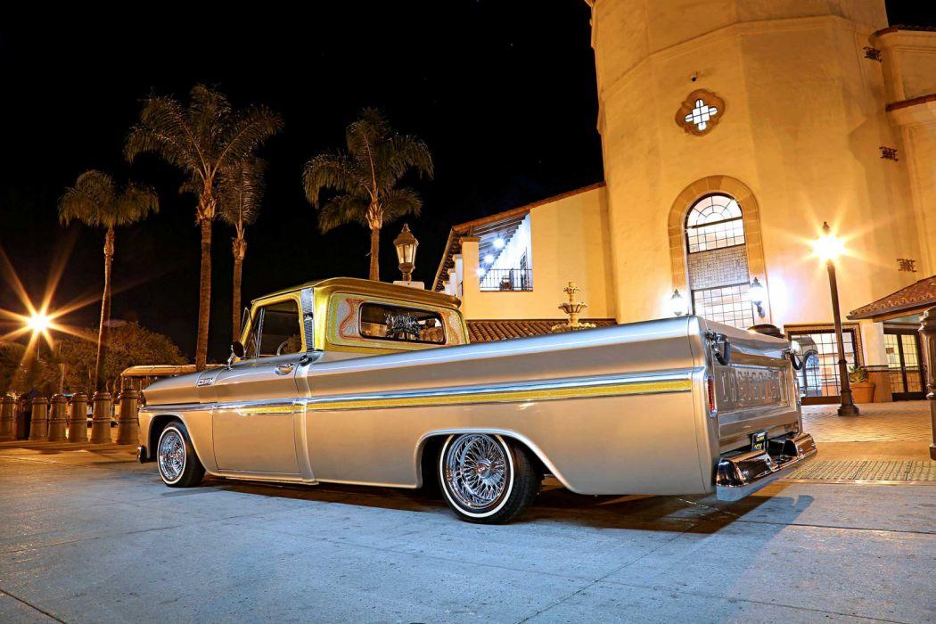 1964 Chevrolet C10 Lowrider Vehicle Auto Automobile Custom
