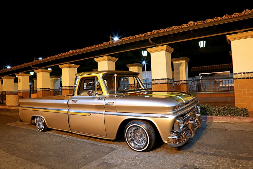 1964 Chevrolet C10 Lowrider Vehicle Auto Automobile Custom