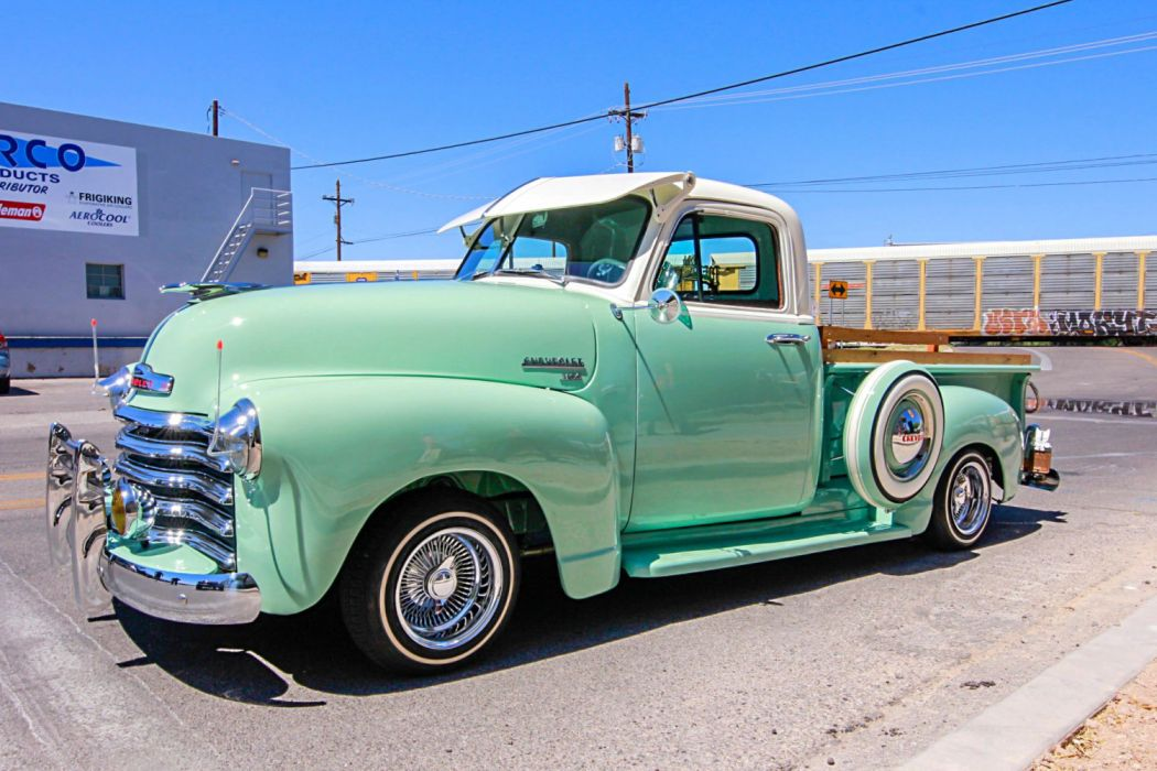 1952 Chevrolet 3100 Lowrider Vehicle Auto Automobile