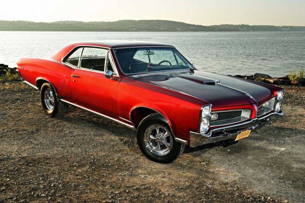 1966 Pontiac Gto Hot Rod Hotrod Custom Vehicle Auto