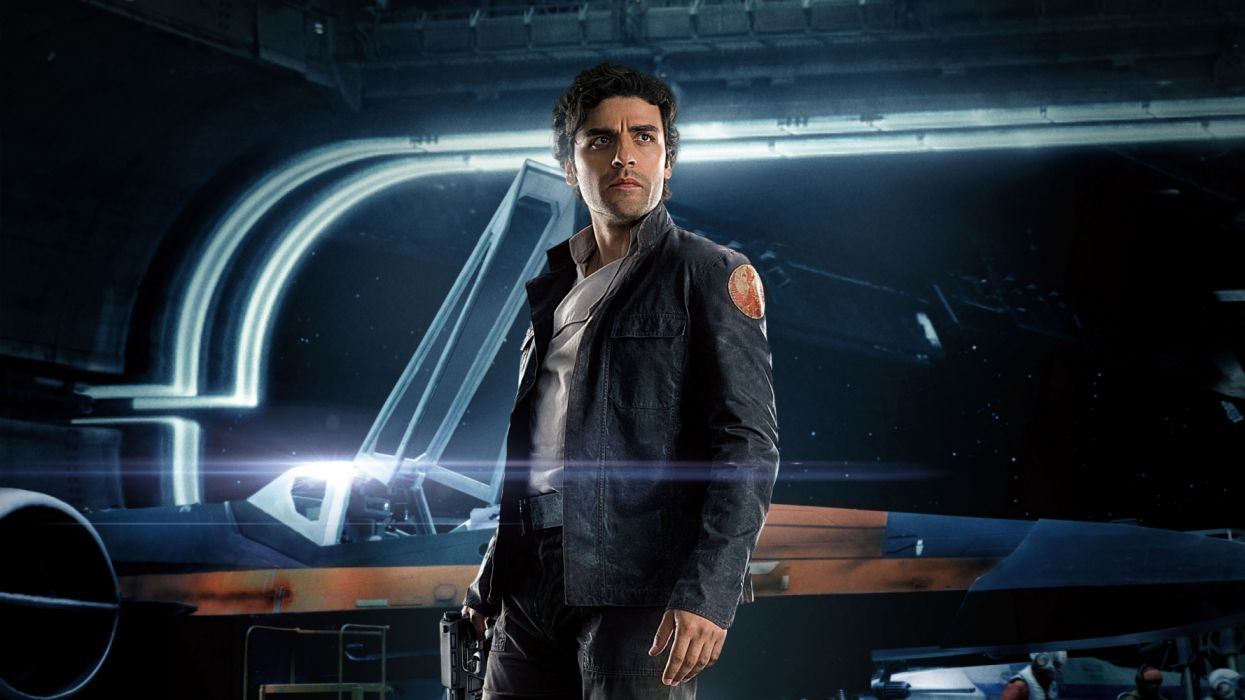 Oscar Isaac Poe Dameron Star Wars The Last Jedi 4k 3840x2160