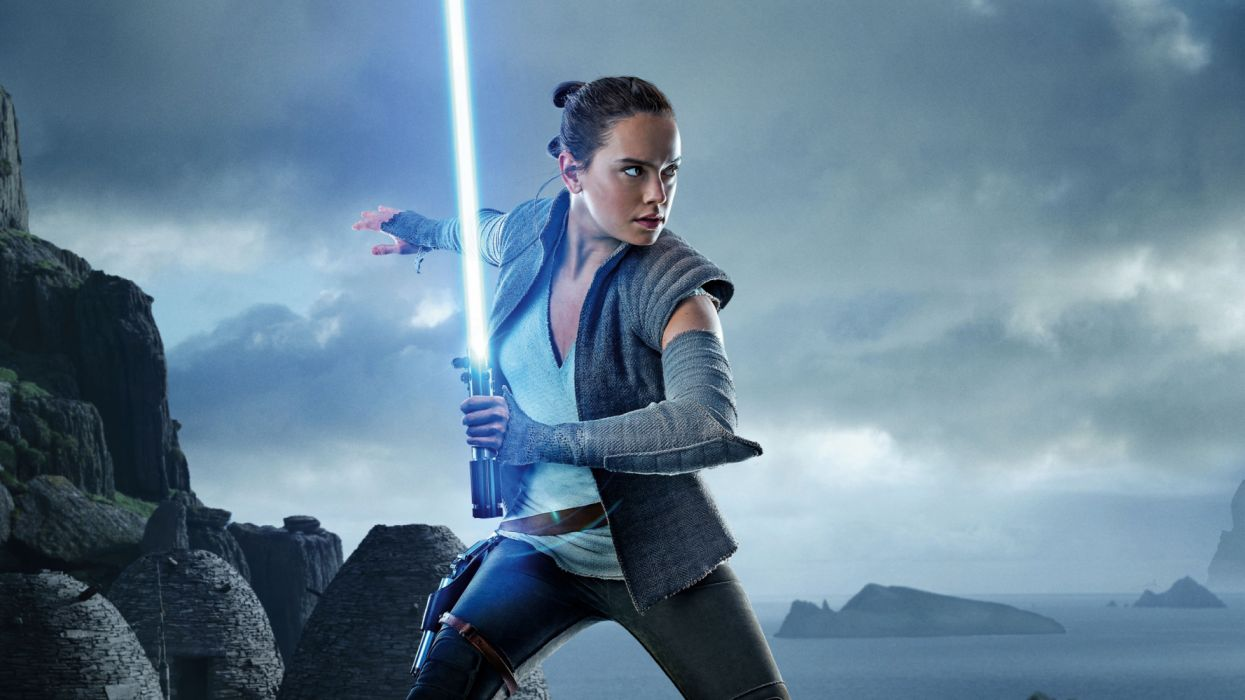 Daisy Ridley As Rey Star Wars The Last Jedi Wallpaper 3840x2160 1201157 Wallpaperup