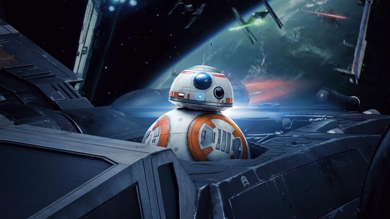 Bb 8 In Star Wars The Last Jedi 4k 3840x2160 Wallpaper 3840x2160