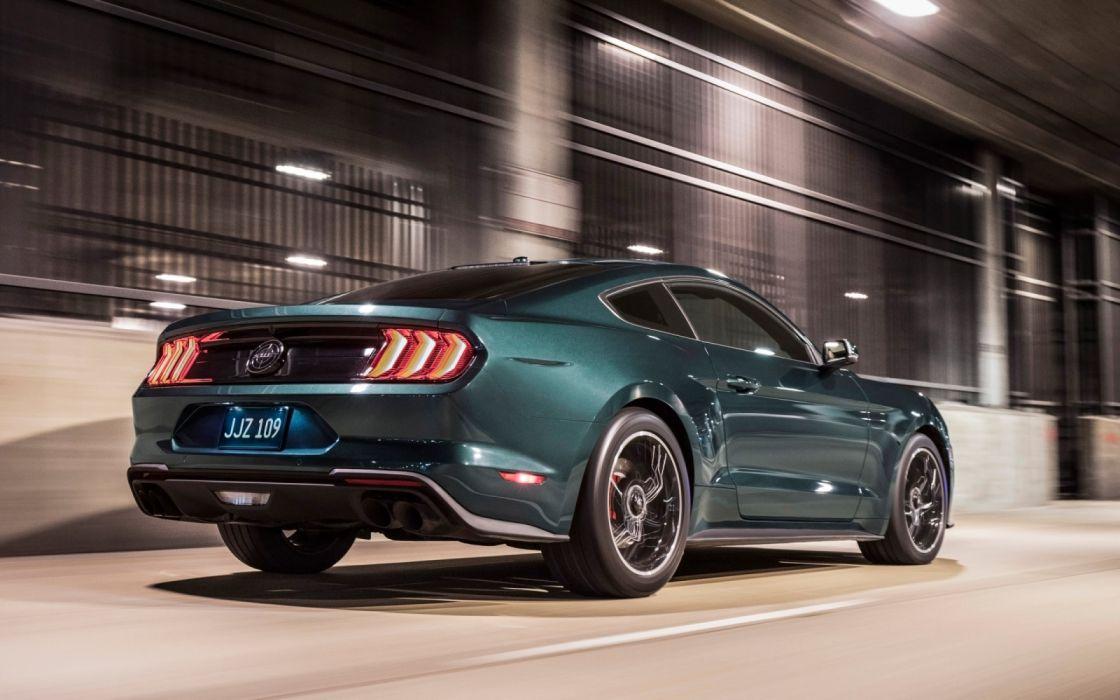 2019-Ford-Mustang-Bullitt-Motion-2-3840x2400 wallpaper