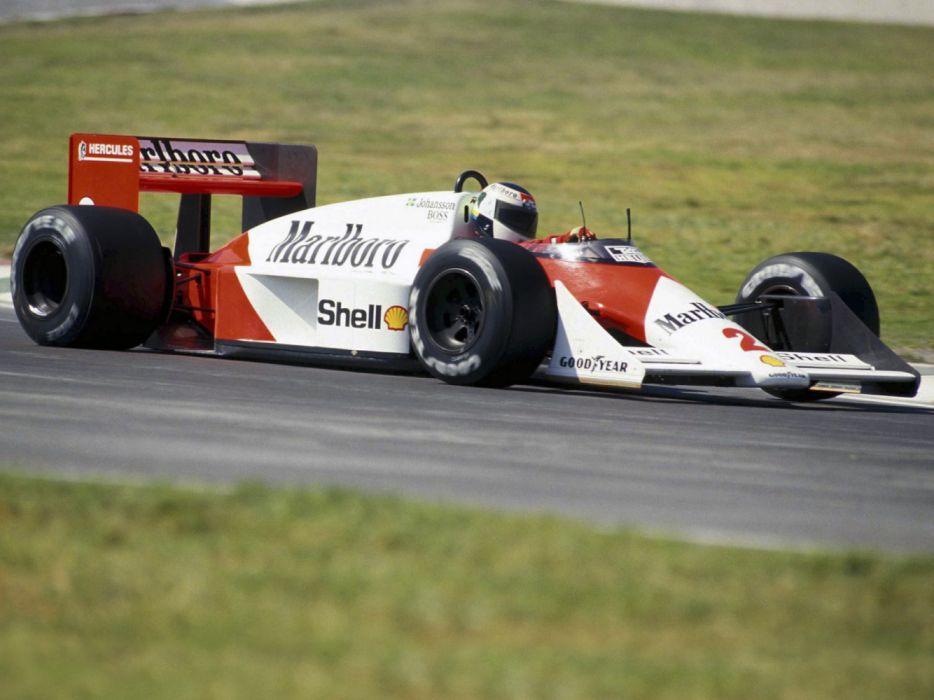 1987 McLaren TAG MP4-3 F-1 formula race racing wallpaper