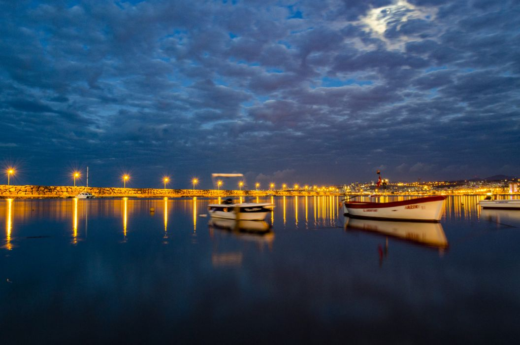 Sami Yılmaz 500px dusk sunset sunrise twilight dawn skyline reflection dramatic sky bridge river pier cityscape samsun long exposure beach turkey city night atakm canik ilkadım turkiye wallpaper