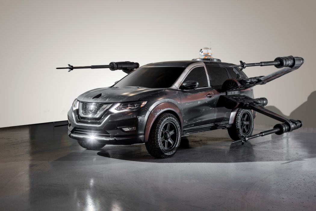 2017 Star Wars Nissan Rogue Poe Dameron's X-wing with BB-8 wallpaper