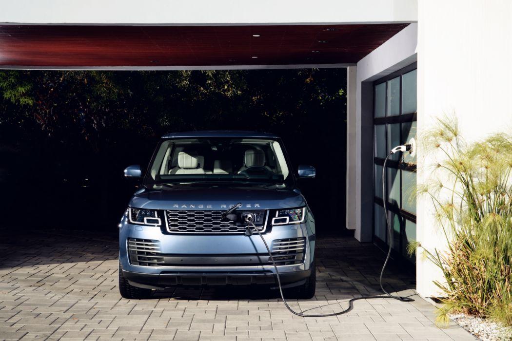 2018 Range Rover Autobiography P400e luxury suv wallpaper