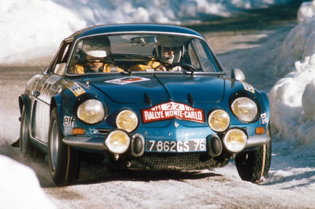 1971 Renault Alpine A110 1600S Group-4 race racing classic rally wallpaper