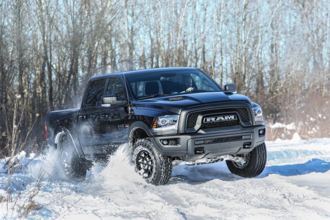 2017 Dodge Ram 1500 Rebel Black Crewcab Pickup Truck Mopar Wallpaper 3000x2000 1205078 Wallpaperup