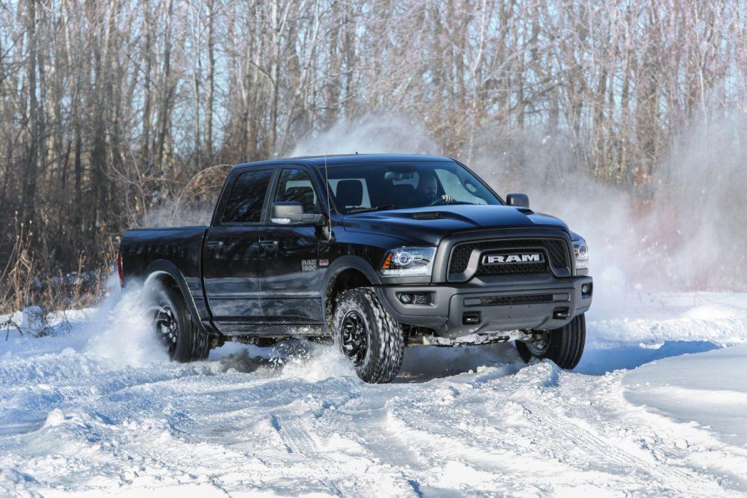 2017 Dodge Ram 1500 Rebel Black Crewcab Pickup Truck Mopar Wallpaper 3000x2000 1205080 Wallpaperup