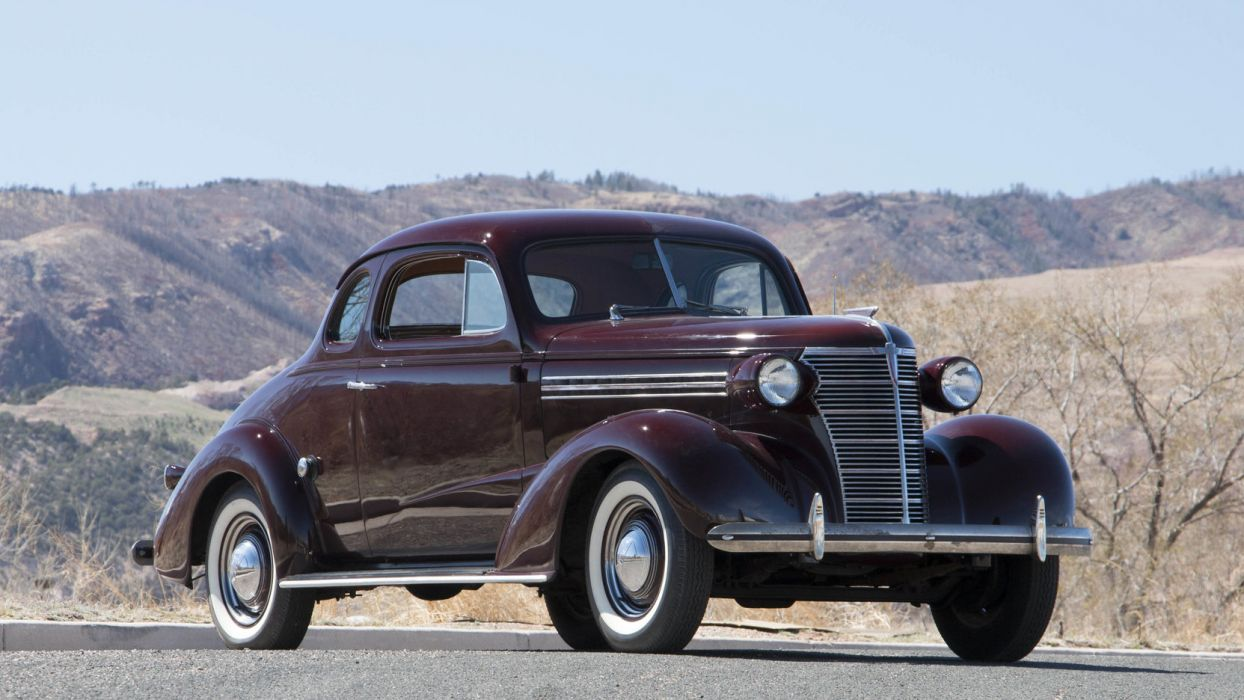 1938 Chevrolet Master DeLuxe Coupe H-A vintage wallpaper