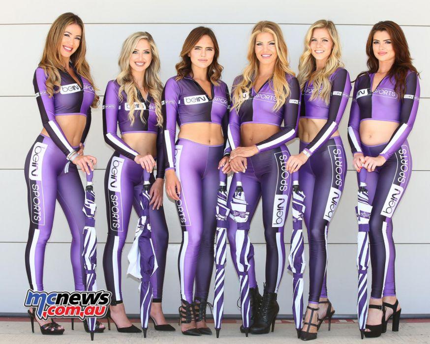 Sexy grid girl Formula 1