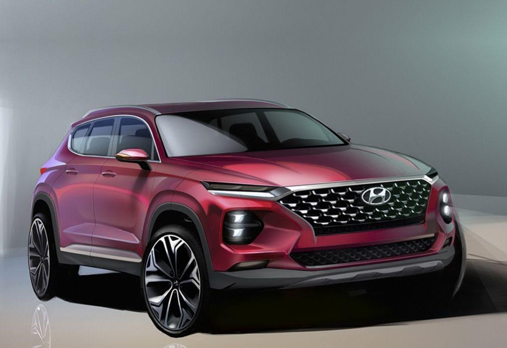 Hyundai Santa Fe 2019 Wallpaper 1600x1100 1209888