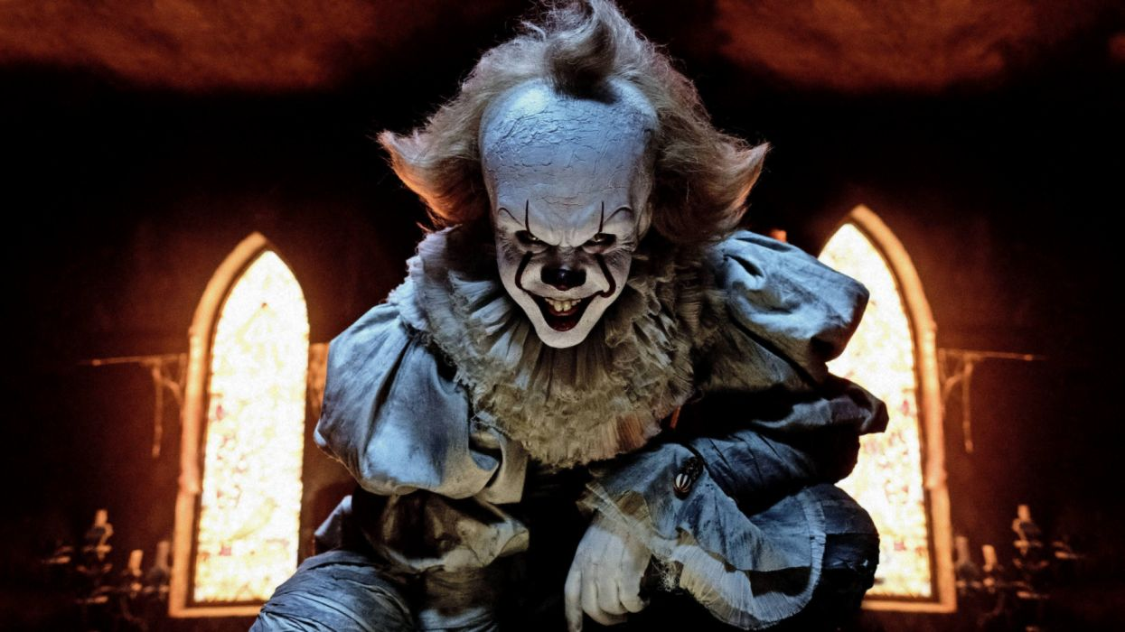 Clown It (2017) Pennywise (It) Scary wallpaper