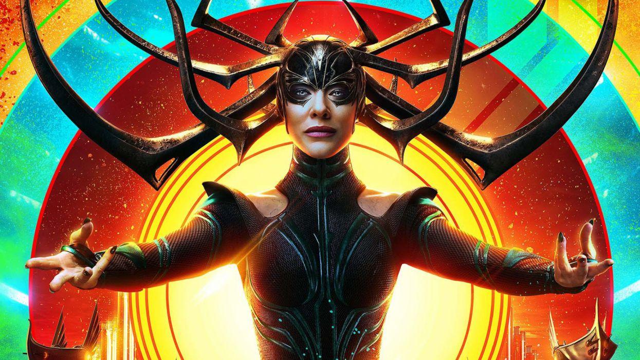 Cate Blanchett Hela (Marvel Comics) Thor Ragnarok wallpaper