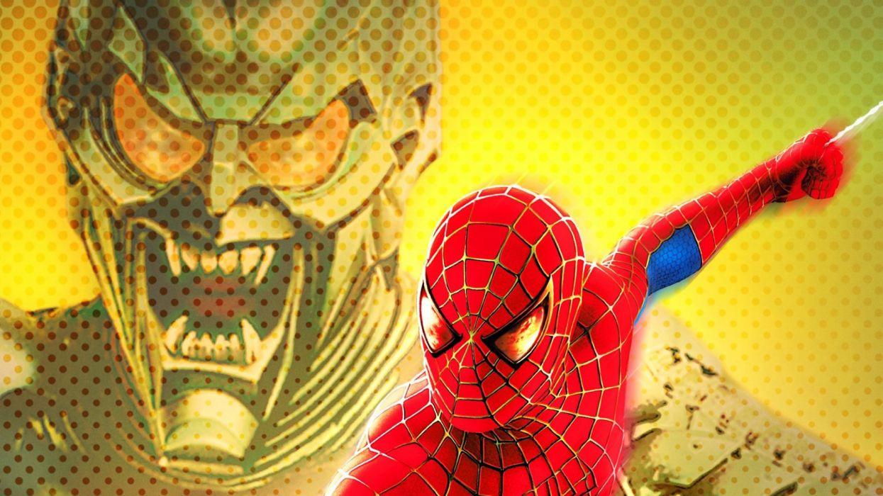 Green Goblin Spider Man Tobey Maguire Wallpaper 1920x1080