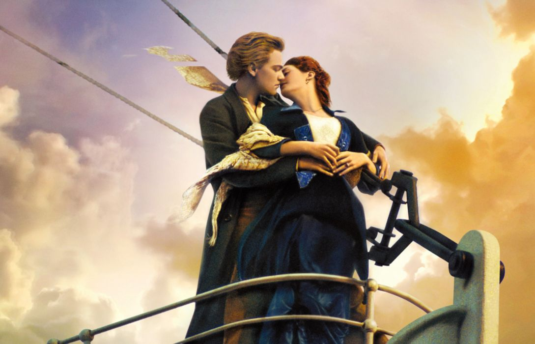 Kate Winslet Leonardo Dicaprio Titanic wallpaper