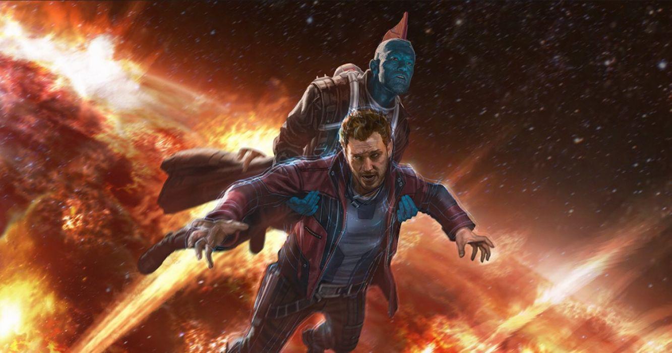 Guardians Of The Galaxy Vol 2 Marvel Comics Star Lord Yondu Udonta