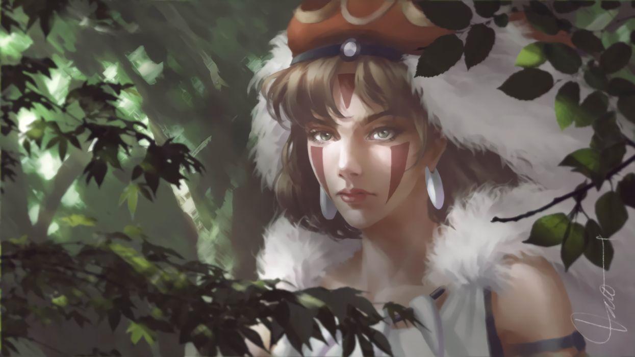Princess Mononoke Wallpaper 1920x1080 1210609 Wallpaperup