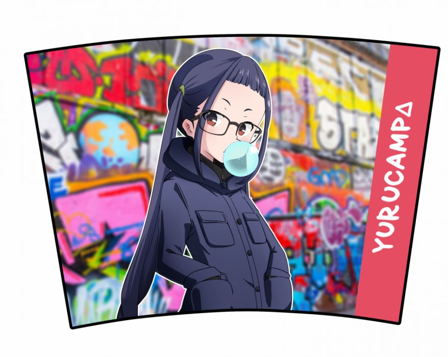 Nyaing! Yuru Camp Oogaki Chiaki wallpaper