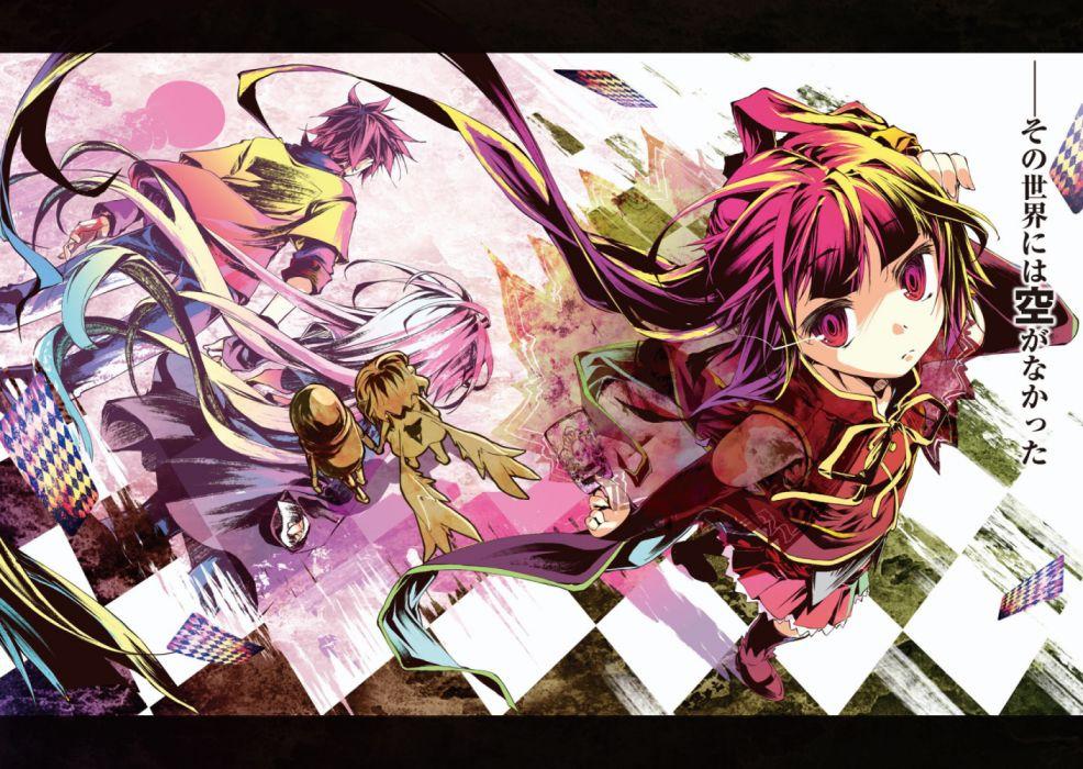 Kamiya Yuu No Game No Life Shiro No Game No Life Sora No