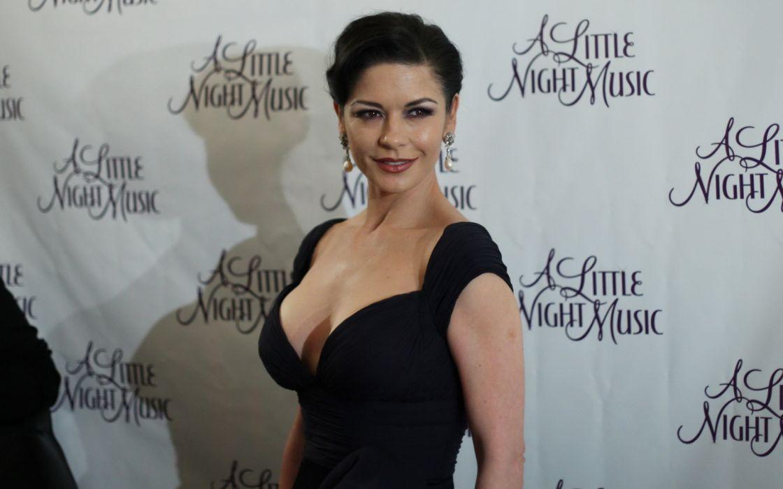 Catherine Zeta Jones mujer actriz celebridad wallpaper
