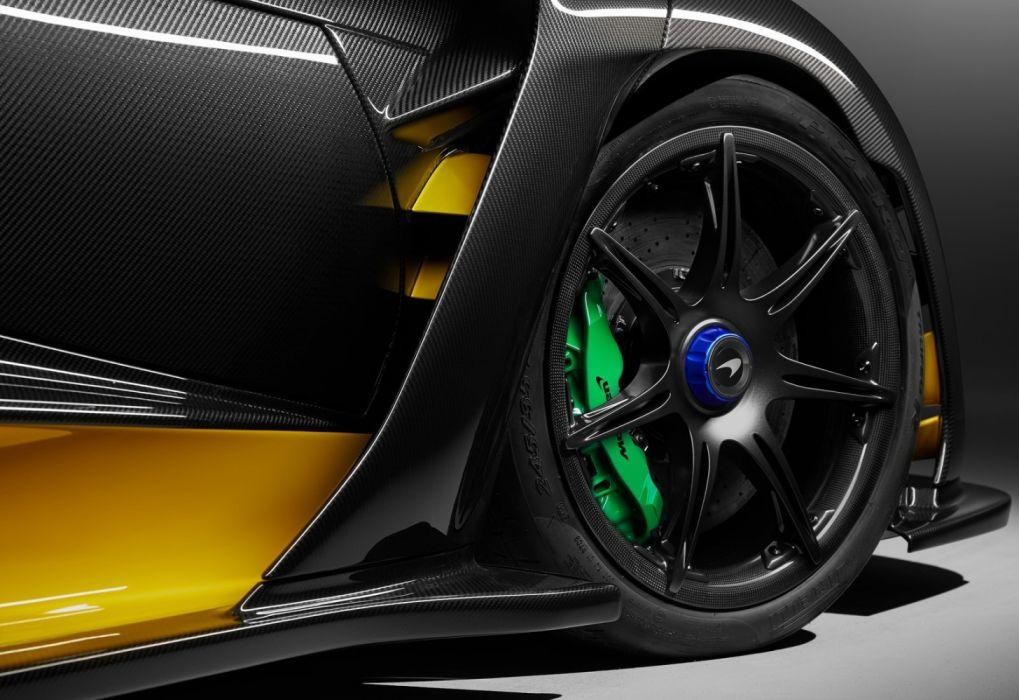 McLaren Senna Carbon Theme by MSO (2019) wallpaper