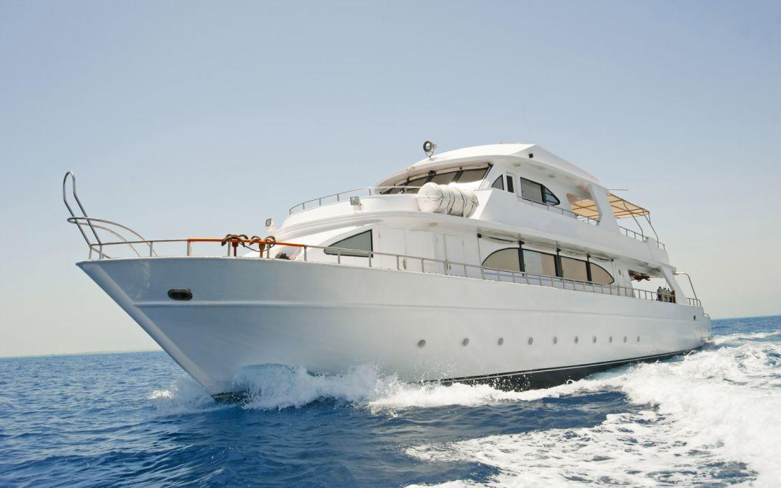 barco yate lujo mar embarcacio wallpaper