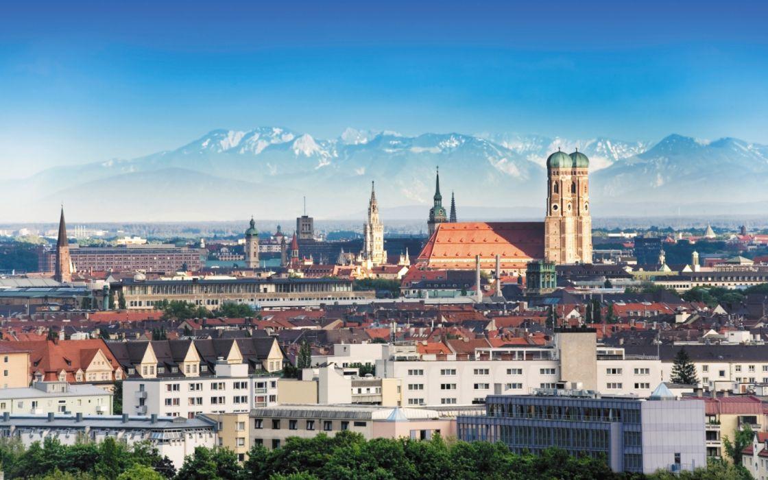 munich city germany europe wallpaper